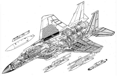 General Dynamics Electric Boat Spars by Mcdonnell Douglas F 15 Eagle Blueprint Free