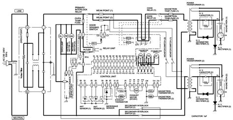 Ge Microwave Oven Wiring Diagram by Electro Help Microwave Oven Circuit Diagram Sharp Model R