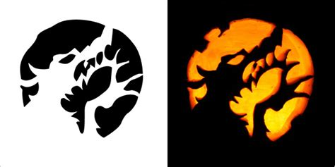 scary but easy pumpkin carving patterns super scary pumpkin carving stencils