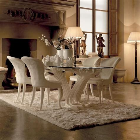 collection  italian dining tables dining room