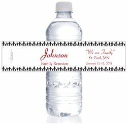 family reunion water bottle labels With family reunion water bottle labels