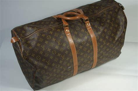 louis vuitton vintage large monogram duffle bag luggage  stdibs