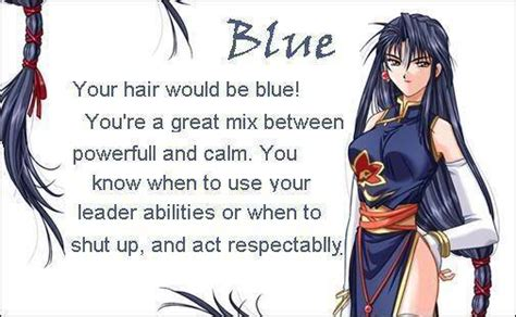 blue hair anime girls photo  fanpop