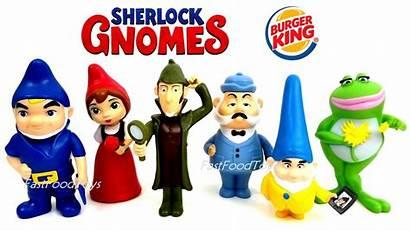 Burger Sherlock Gnomes King Toys Juliet Gnomeo