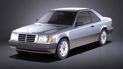 mercedes w124 coupe mercedes e class w124 coupe 1990 vray