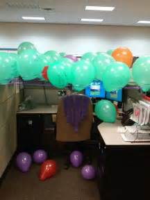Work Cubicle Birthday Decorations by Cubicle Birthday Ideas Gifts Cubicle