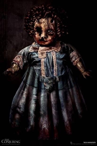 Annabelle Doll Conjuring Horror Film Creepy Dolls