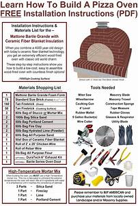 Download Your Free Copy Of Our Diy Pizza Oven Instructions