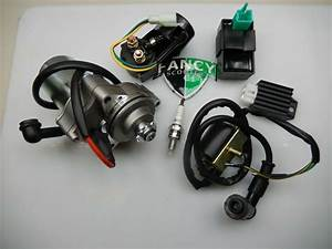 Electrical Kit Kazuma Meerkat 50 Falcon 90 Atv Starter Cdi