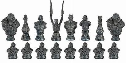 Thrones Chess Collector Schachspiel Collectors Xadrez Westeros