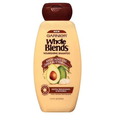 garnier whole blends avocado oil shea butter extracts nourishing shoo 12 5oz target