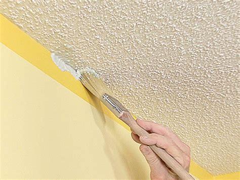 Zimmerdecke Streichen Tipps by Textured Ceiling Painting Tips Popscreen