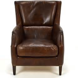 cedric leather lounge chair chestnut home source furniture