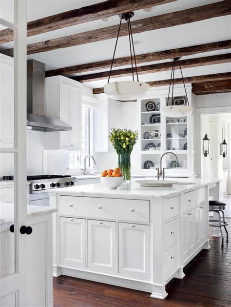 cuisine blanche et marron 1001 designs et conseils pour la cuisine rustique parfaite