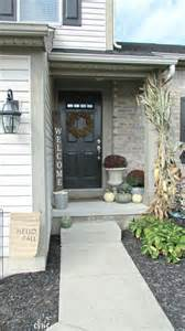 beautiful small house front porch designs welcome fall small front porch from farmhouse chic