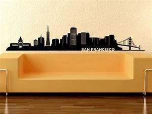 Wandtattoo San Francisco : wandtattoo skyline san francisco kalifornien ~ Whattoseeinmadrid.com Haus und Dekorationen