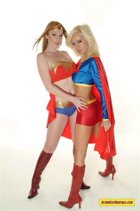 Lesbian Costumes Supergirl Cosplay Luscious