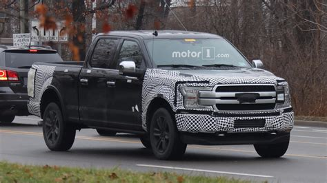 2018 Ford F150 Facelift Spied On The Road