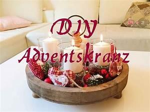 Adventskranz Mit Weingläsern : diy adventskranz selber machen weichnachtsdeko dekoration youtube ~ Whattoseeinmadrid.com Haus und Dekorationen