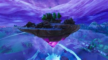 Fortnite Island Floating Cube Moving Map Weird