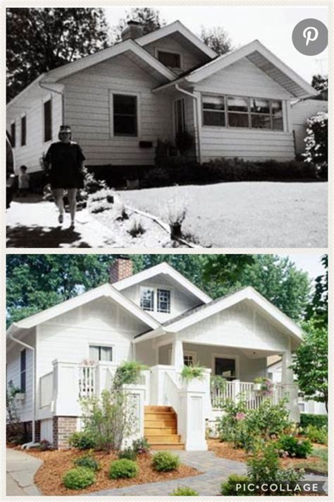 ugly house makeovers images  pinterest