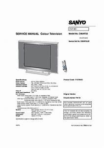 Sanyo Cm29fs2 Chassis Fb1