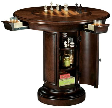The Bar Table by Howard Miller 699 010 699010 Ithaca Pub Table