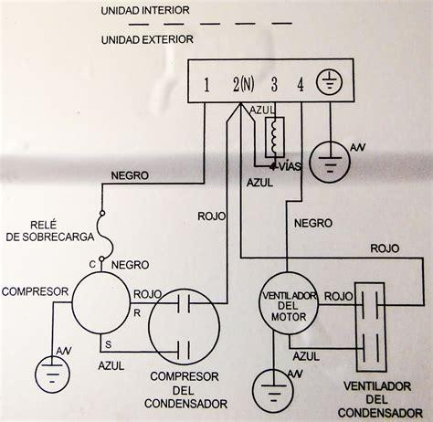 diagrama electrico de condensadora carrier yoreparo