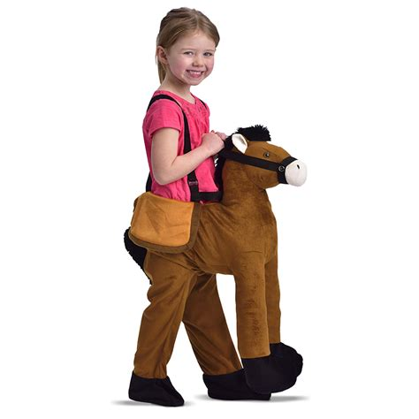 dress  horse kids fancy dress toys bm