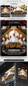 Portfolio Psd Template Bowling Tournament Premium Flyer Template On Behance