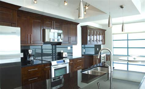 milano walnut  kitchen cabinets  granite countertops