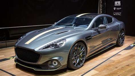 williams helps aston martin  electric  rapide
