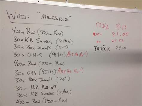 crossfit wod workout birthday milestone 30th final times katie fitness