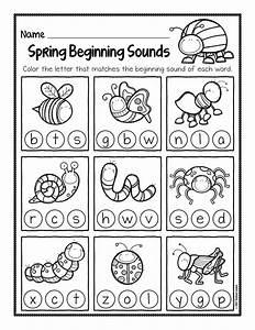 Spring Beginning Sound Worksheets 001 - The Super Teacher