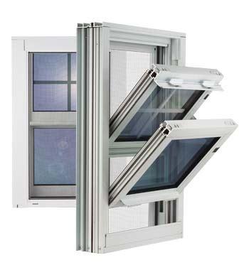 gerkin windows doors  double hung aluminum window