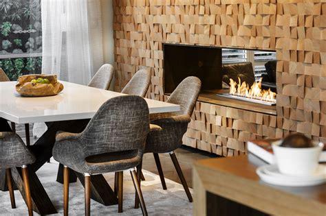 eco smart fireplace diseño de casa moderna de dos pisos fachada e interiores
