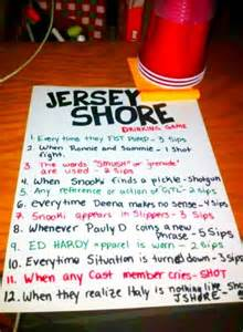 Jersey Shore Drinking