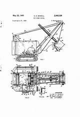 Shovel Power Patents Drawing Patent Toy Pages sketch template