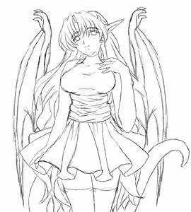 Old Dragon Girl Sketch by Msabrehaven on DeviantArt