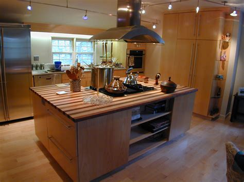 stove top island a thoroughly modern kitchen