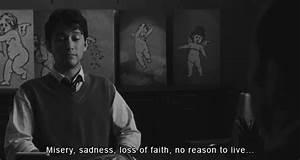 Black and White depressed depression joseph gordon-levitt ...
