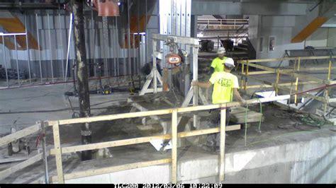 cut concrete   cellular center cedar