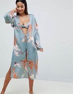 robes de chambres et peignoirs pour femme asos With chambre bébé design avec robe fleurie missguided