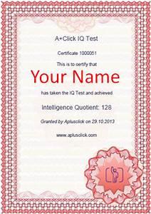 A+Click IQ Test: Intelligence Quotient