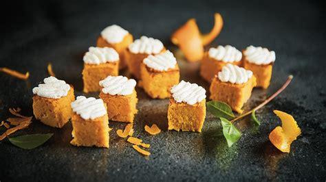 Burkānu kūciņas ar apelsīnu krēmu - Recepte - Recepte Unilever Food Solutions