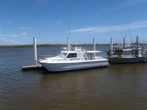 Diesel Catamaran Fishing Boats For Sale by Used Nustar Comet 9 6 Comemrcial Fishing Catamaran For