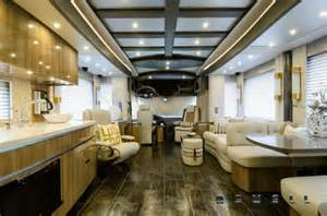 trailer homes interior 7 multimillion dollar motorhomes cbs news