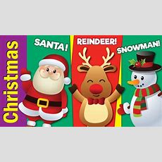 Learn Christmas Vocabulary  Kids Learning Videos  Esl For Kids  Fun Kids English Youtube