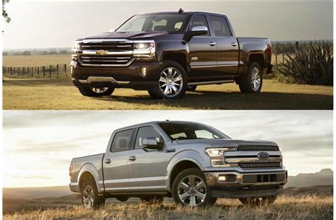 2018 Chevrolet Silverado vs. 2018 Ford F 150: Head to Head