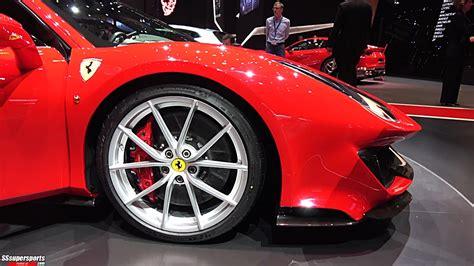 12 Red 2019 Ferrari 488 Pista At 2018 Geneva Motor Show